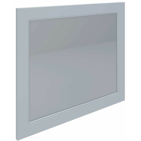 RAK Washington Framed Bathroom Mirror - 650mm H x 785mm W - White