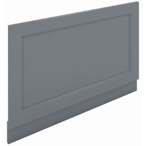 RAK Washington Grey 800mm End Bath Panel - RAKWEP80503