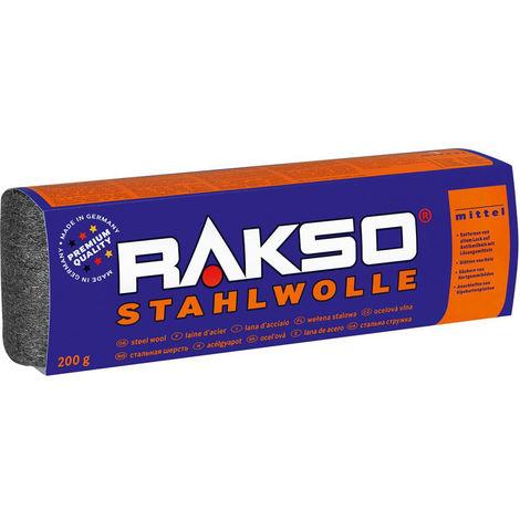 RAKSO STAHLWOLLE Gr. 2 mittel, EK 200 g