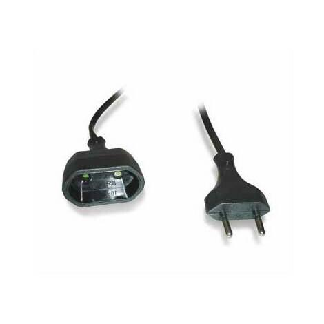Rallonge 2X0.75 5M Noire
