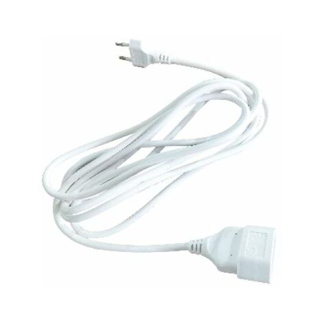 Rallonge (2x0,75mm) 2M Blanc GSC 100500000