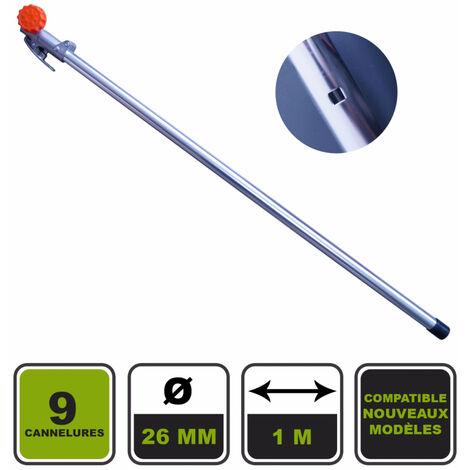 Rallonge 9 cannelures 1m nouvelle version Silex® pour outil multifonctions 4 en 1