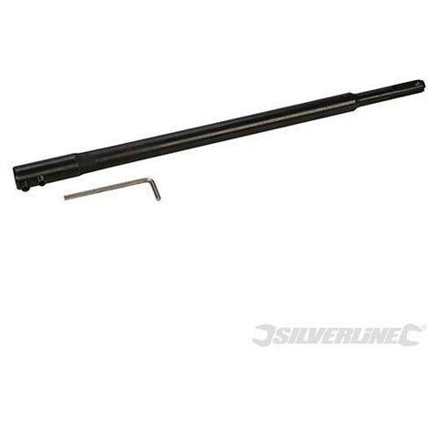 Rallonge adaptateur SDS-Plus pour mèches à bois plates, 300 mm