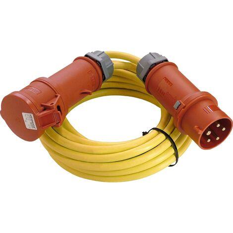 Rallonge alimentation as - Schwabe 60711 60711 16 A jaune 10.00 m 1 pc(s) C340421