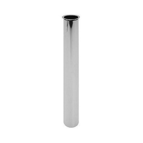 Rallonge avec bride pour siphon de lavabo, diamètre 32x250 chromé