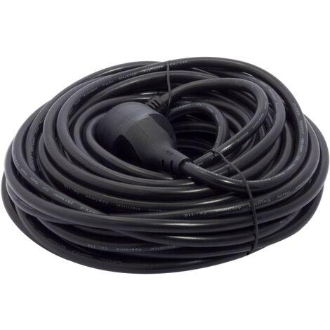Rallonge Chacon HO5VVF 20m Noir IP20