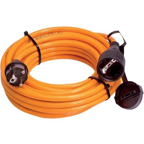 Rallonge électrique 25m H07BQ-F 3G2,5 orange