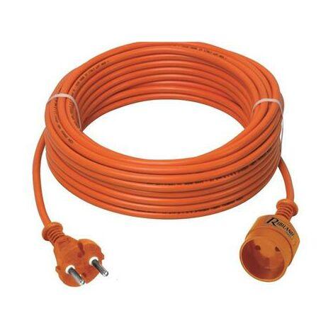 Rallonge électrique H05VVF 2x1.5 mm² 16 A - RIBILAND
