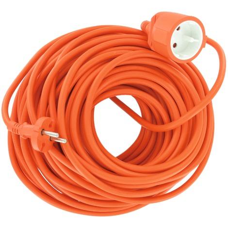 Rallonge électrique orange - Dhome