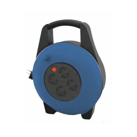 Rallonge électrique Silver Electronics Enveloppante Bleu 3500W