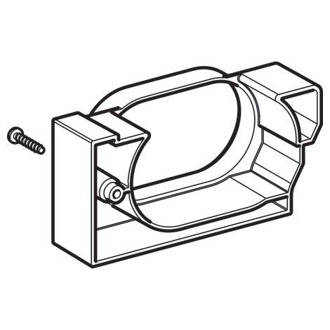 Rallonge Geberit pour aspiration d'odeur plaque de commande - Geberit