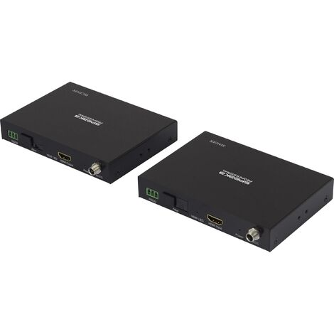 Rallonge HDMI + série IP SpeaKa Professional HDMIV-IPSO100 20 km N/A S647021
