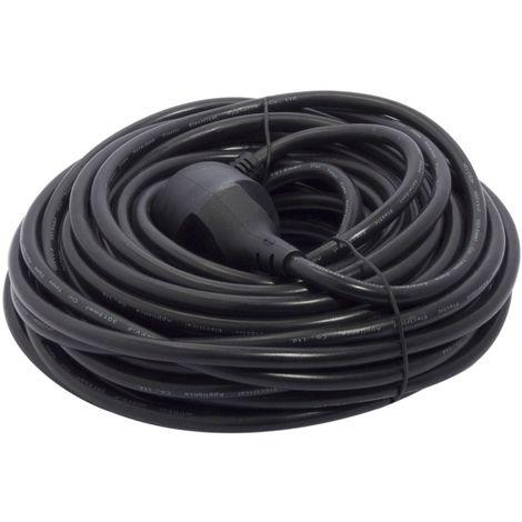 Rallonge noir - 20 m