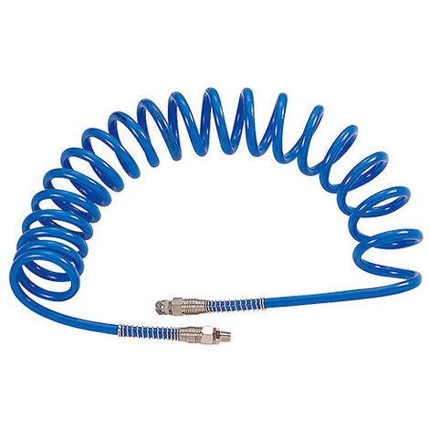Rallonge spirale - Diamètre intérieur 8 - Longueur tuyau 10 M