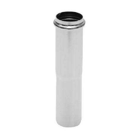 Rallonge universelle pour siphon de lavabo, diamètre 32 x 140 chromé