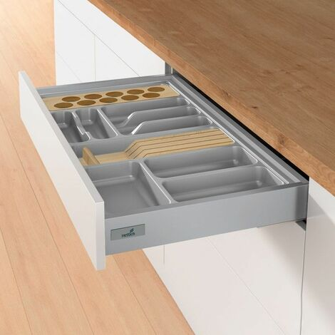 Ramasse couverts orgatray 480 gris - HETTICH