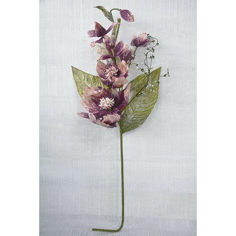 Ramo de flor en tela. 100 cm Rosa claro