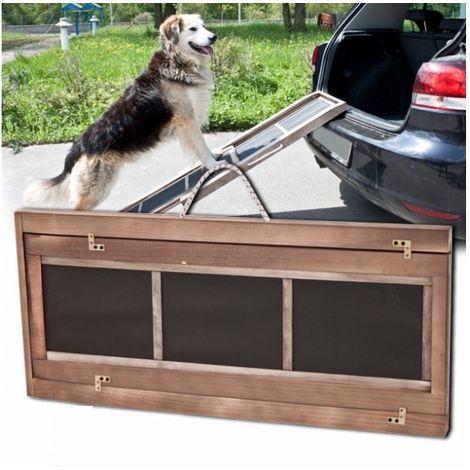 Rampa de coche para perros 165x 43 x 6,5 cm