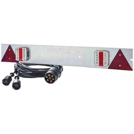 Rampa de señalización LED galvanizado 1m
