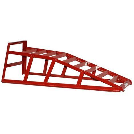 Rampa para coches de hierro 2 toneladas