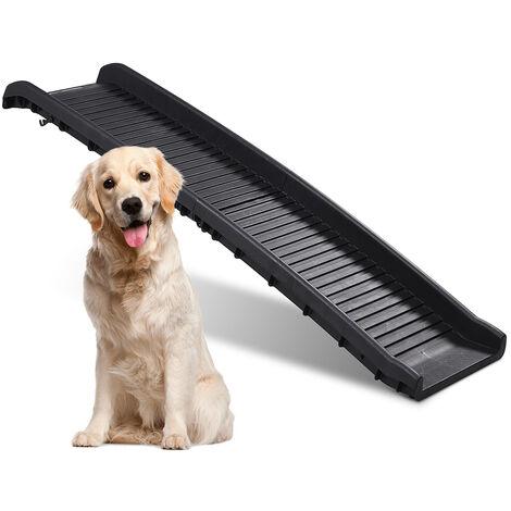 Rampa para perros plegable de plástico y portátil para coche Cody