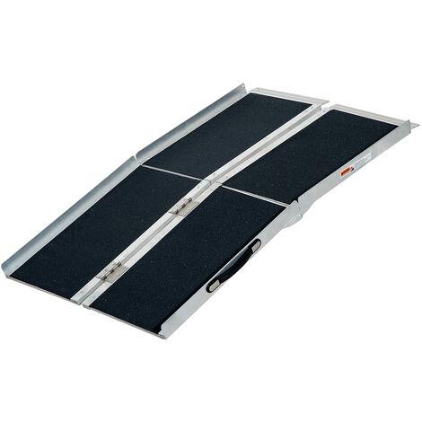 Rampa per Sedia a Rotelle in Alluminio Ripiegabile a ...