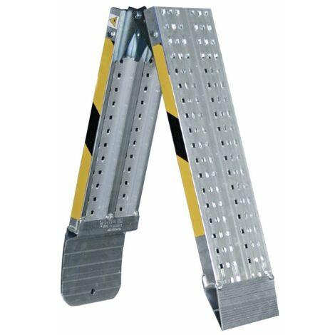 Rampa Plegable Aluminio 200x20cm 8kg Rlp20 Carga 400kg Svelt