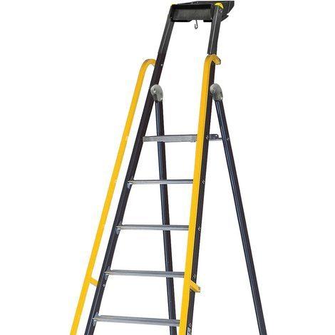 Rampe adaptable sur les escabeaux MP et MO CENTAURE à partir de 7 marches- 380188 - -
