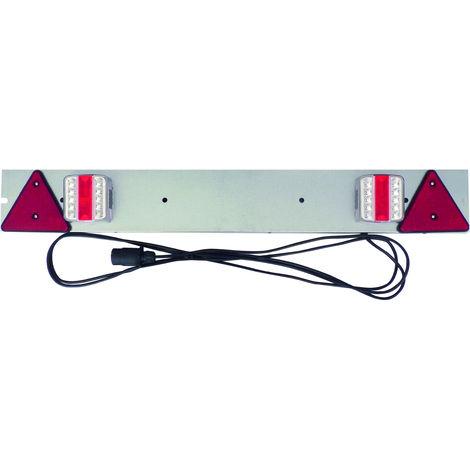 RAMPE BAGAGERE 1M LED SANS ANTI-BROUILLARD CABLE 4M -S17127