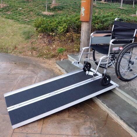 Rampe D'Accès Et D'Escaliers Pour Fauteuil Roulant, Quad 213.5cm 270kg