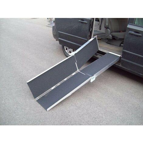 Rampe d'Accès Ou De Marche Pour Fauteuil Roulant, Quad 183 cm 270 kg