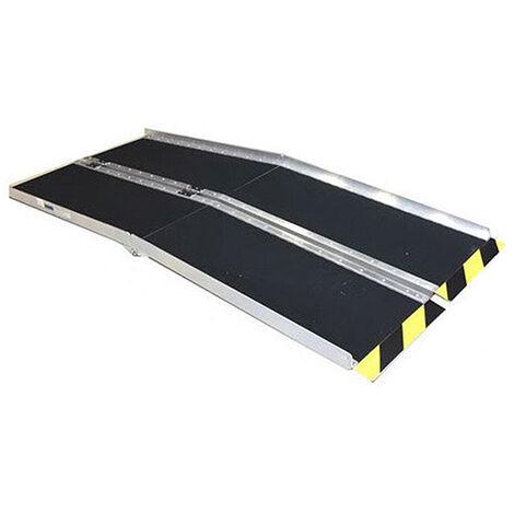 Rampe d'accès PMR pliante - Largeur 74cm (plusieurs tailles disponibles)