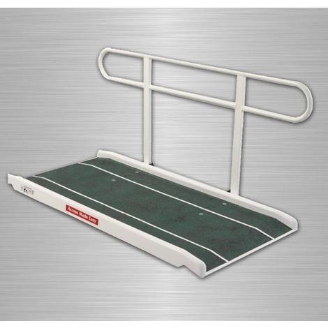 Rampe d'accès standard avec main courante pliable - Mobilité