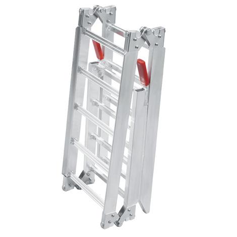 Rampe de chargement 2x Pliable Aluminium Moto VTT Quad Rampe d'accès Rail 199cm 270kg