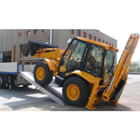 Rampe de chargement avec rebords jusqu'à 14000kg - Largeur int. 500mm (plusieurs tailles disponibles)