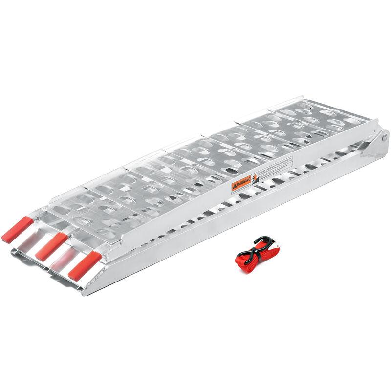 rampe de chargement moto atv quand pliable aluminium rampe. Black Bedroom Furniture Sets. Home Design Ideas