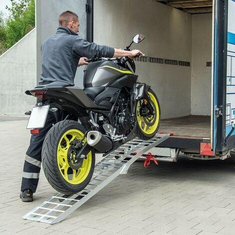 Rampe De Chargement Pliable Moto, Véhicule 2 Roues. 226 cm 680 kg