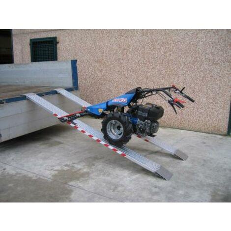 Rampe de chargement sans rebord jusqu'à 1580kg - Largeur 215mm (plusieurs tailles disponibles)