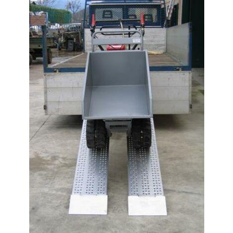 Rampe de chargement sans rebord jusqu'à 2900kg - Largeur 415mm (plusieurs tailles disponibles)