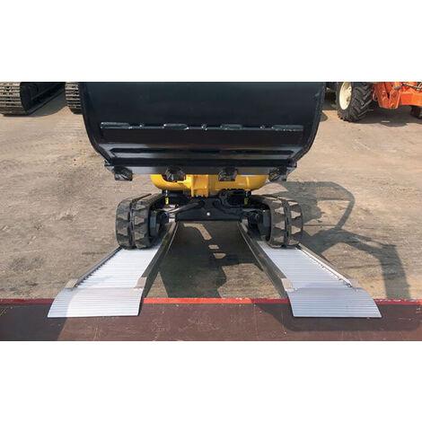 Rampe de chargement  sans rebord jusqu'à 3500kg - Largeur int. 300mm (plusieurs tailles disponibles)