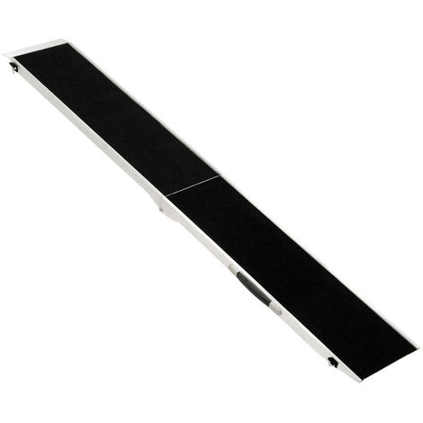 Rampe de Chien Escalier Animal Aluminium Voiture Automobile Maison 213 cm Petigi