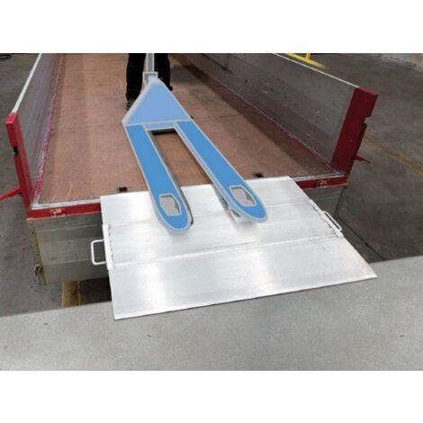 Rampe de quai de chargement mobile - charge max 3420kg (plusieurs tailles disponibles)