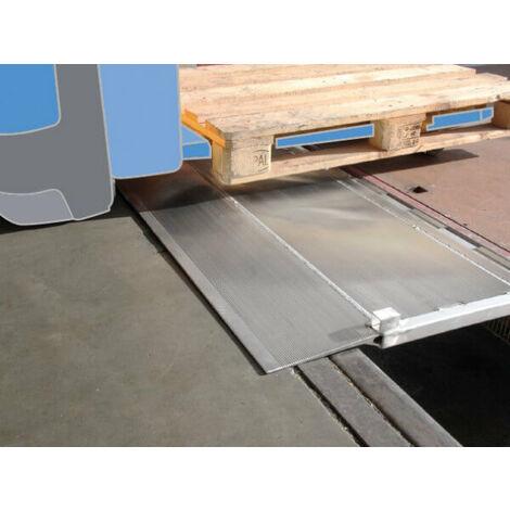 Rampe de quai - Hayon de fixation en aluminium (plusieurs tailles disponibles)