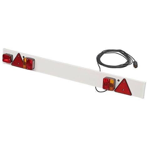 Rampe d'éclairage de remorque avec feu anti-brouillard + 9M câble