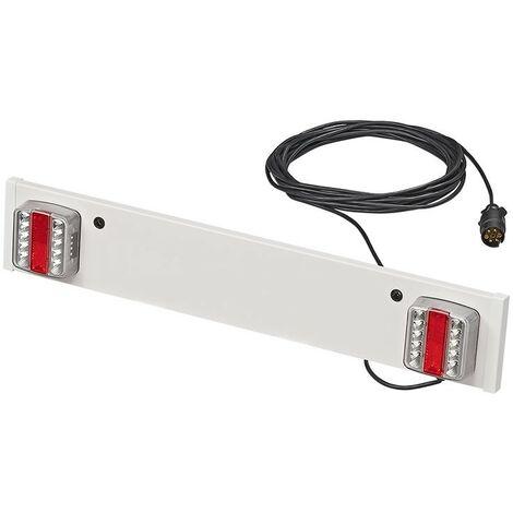 Rampe d'éclairage de remorque LED 90cm + 10M câble