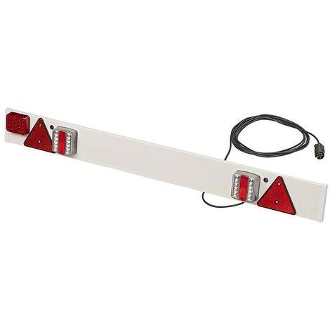 Rampe d'éclairage de remorque LED avec feu anti-brouillard + 6M câble