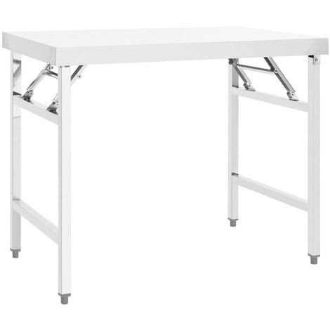Rampe d'escalier en acier inoxydable 5 barres transversales 100cm parapet mains courantes garde-corps