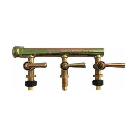 rampe laiton 3robinets but/pro