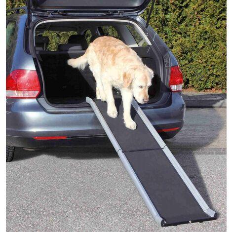 Rampe pour animaux petwalk, aluminium - 38 × 155 cm, 6,3 kg, noir