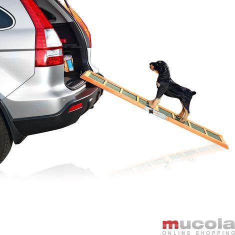 Rampe pour chien voiture Télescope Aide d'accès télescopique Escalier pour chien